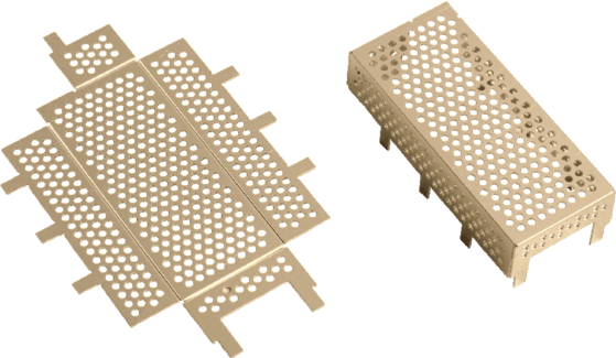 Shield Flat and Formed